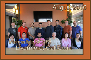 August 2016 Int. MCNP6 Livermore